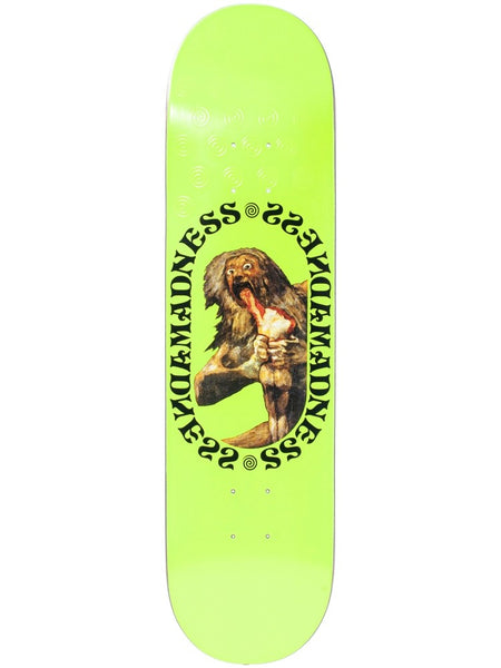 MADNESS Son Neon Yellow 8.0 R7 Skateboard Deck