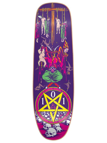 101 Natas Kaupas Devil Worship NEON LTD EDT 9.625 R7 Skateboard Deck