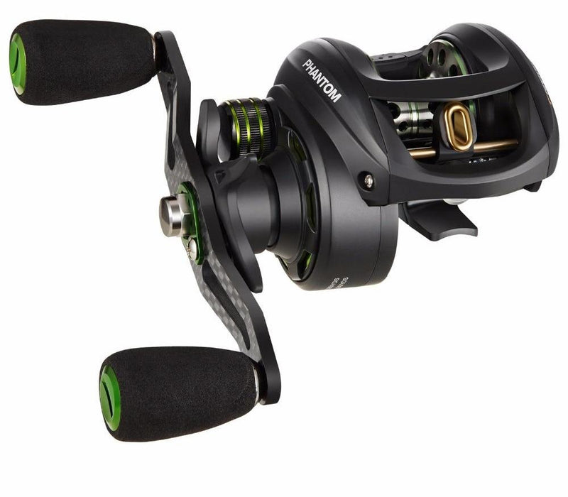 Carbon Fiber Ultralight Baitcasting Freshwater Fishing Reel Dual Brake