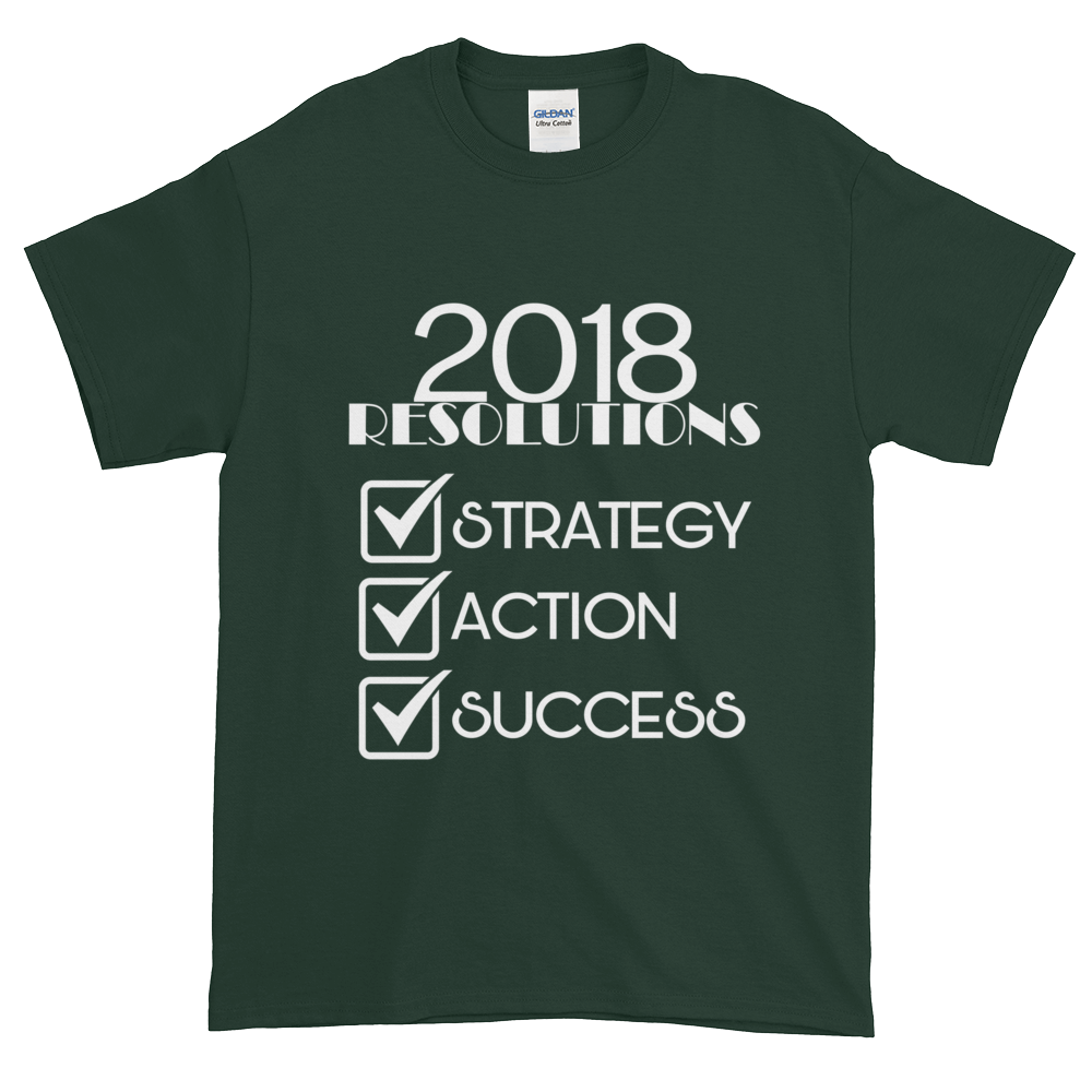 2018 Resolutions Shirt (Men)