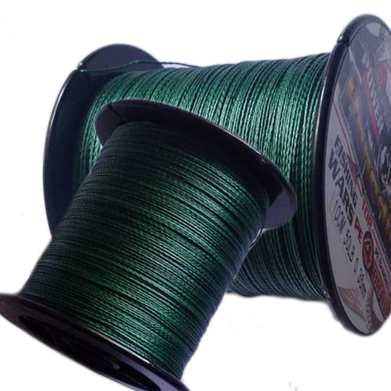 Multifilament Braided Fishing Line 8 Color 100m Super Strong 4 Stands Freshwater Wires