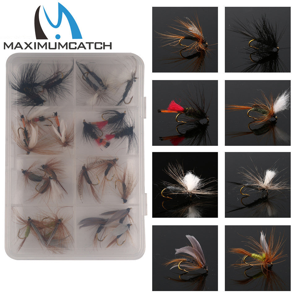 Mixed Dry Flies Pack/set