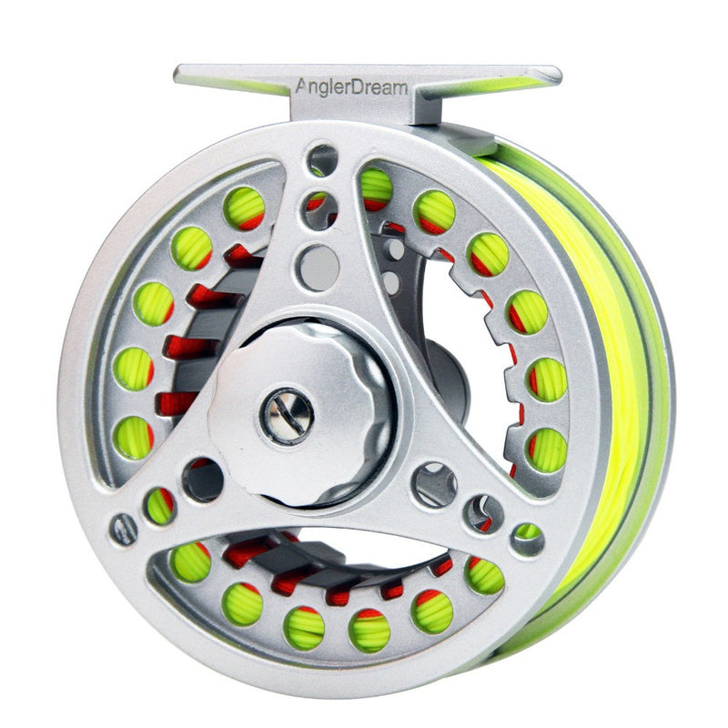 Fly Fishing Reel Combo Aluminum