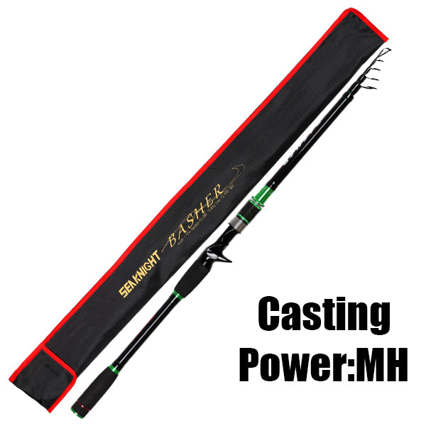 Power Carbon Fishing Rod Spinning Casting