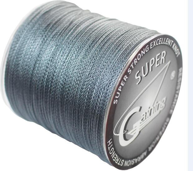 Green Strands Braided Fishing Line