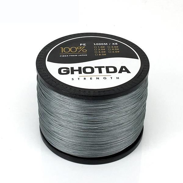 Braided Fishing Line Mulitifilament 8 Threads Fish Line for Saltwater & Freshwater
