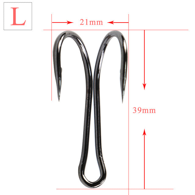 Carbon Steel Barbed Double Frog H Shape