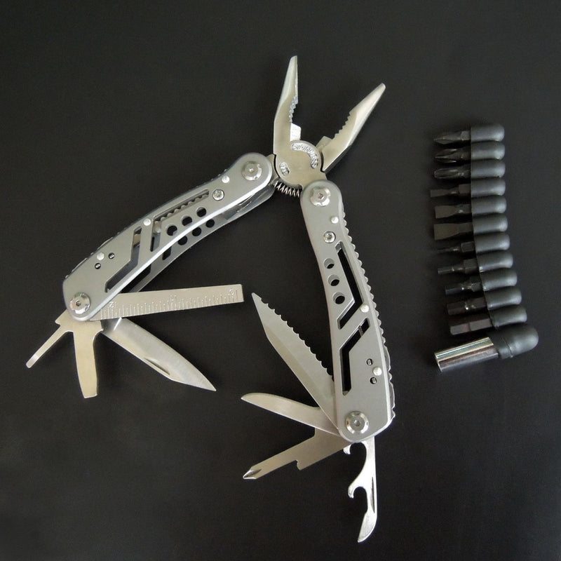 Multifunction Pliers with Screwdriver kit Portable Outdoor Fishing Knife