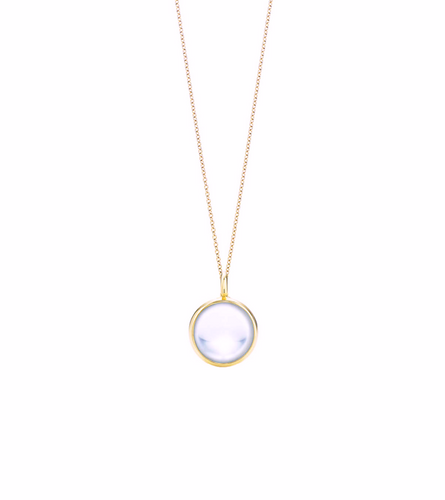 Crystal Ball Necklace, Quartz