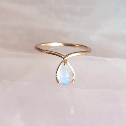 Indra Ring, Moonstone