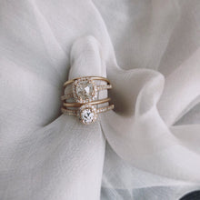 Liddy Ring, White Diamond