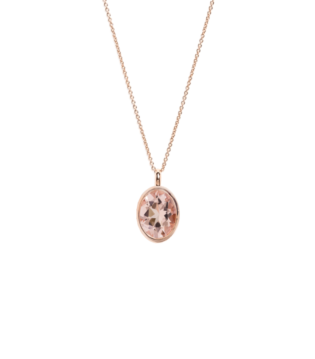 Flora Necklace, Morganite