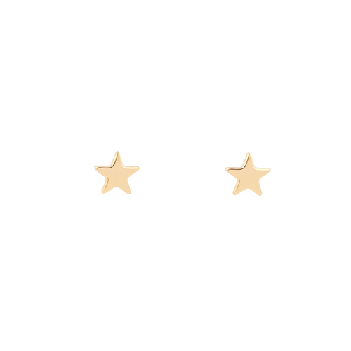 star cosmos celestial stud studs earrings tiny petite small