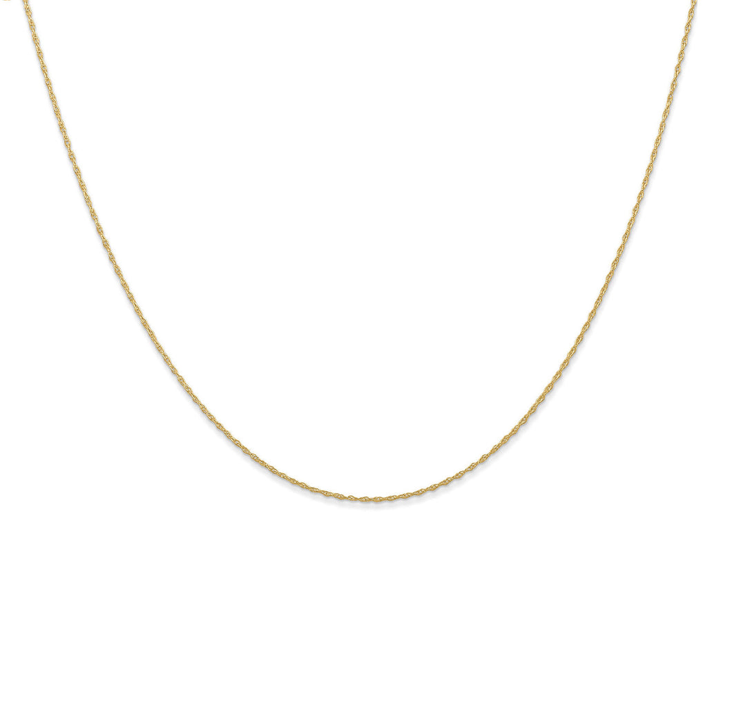 14k yellow gold thread twist braid rope chain neckace