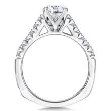 Cathedral Style Diamond Wedding Set