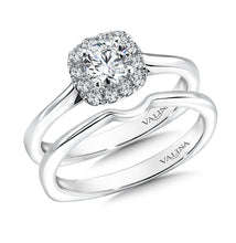 Classic Cushion Halo Diamond Wedding Set
