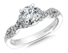 Infinity Designed Diamond Wedding Set
