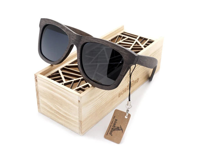 Vintage Wood Framed Sunglasses- A Luxury to Your Lifestyle