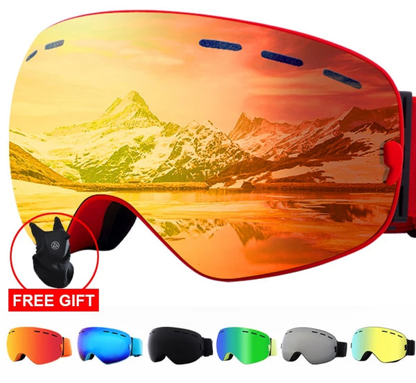 Anti-fog Snow Skiing sunglasses - sk102