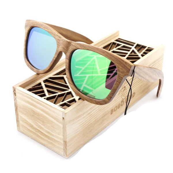 100% Handmade Wood Wooden Sunglasses Cute Design for Men Women