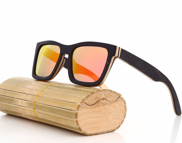 Square & Rectangle Wood Sunglasses for Men's - WS10010