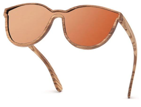 Steampunk Wood Sunglasses - WS10064