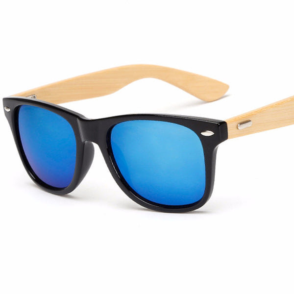 Ralferty Retro Wood Sunglasses for Mens - WS10011