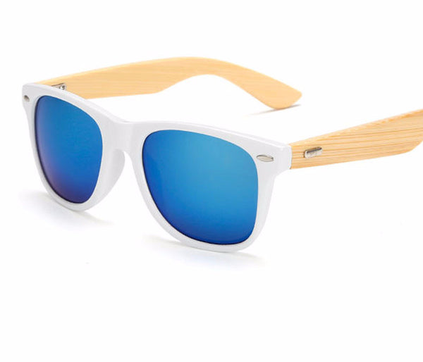 2017 Retro Bamboo wooden Sunglasses for  Women and  Men with Premium Quality