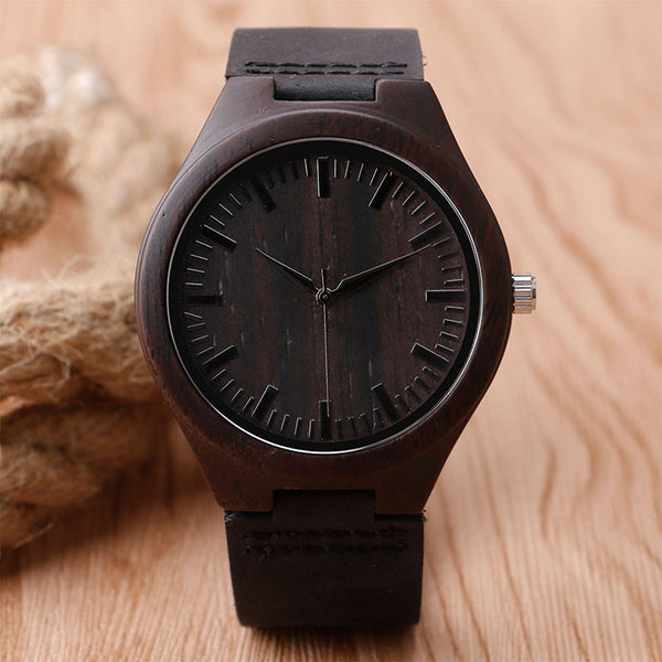 Nature Wooden Watch Minimalist - WW10155