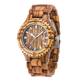 wood watch UWOOD Quartz casual watches for man famous brand wood watch chrismas gift wood watch
