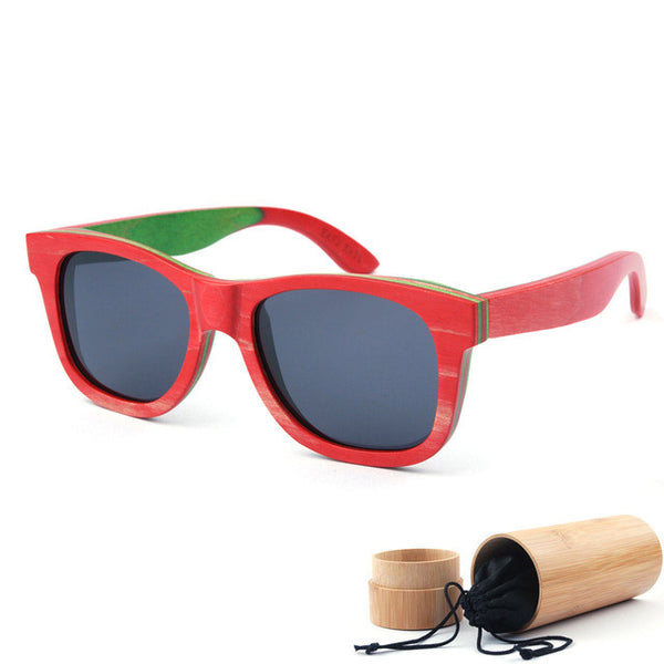 Wood Sunglasses Polarized Available in Different Colors // Wayfair102
