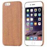 Bamboo Wood Grain Patterned iPhone 6, 6S, 6 Plus, 7, 7 Plus Case