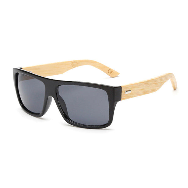 Wood Sunglasses with Bamboo Arms - WS10028
