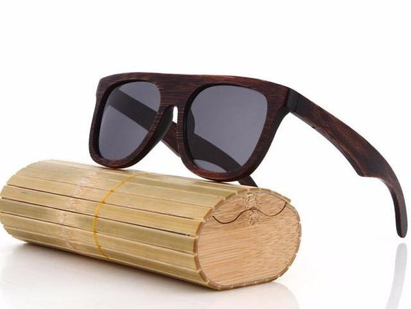 Wood Sunglasses Polarized Driving Bamboo Sunglasses Wooden Glasses ...