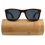 Retro Vintage Women Men Wooden Sunglasses au Frame Handmade lens polarized Glasses
