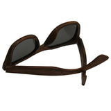 Retro Vintage Wowen Men Wooden Sunglasses au Frame Handmade lens polarized Glass