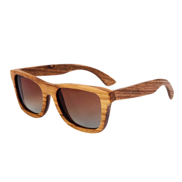 Zebra Wooden Sunglasses WS10006