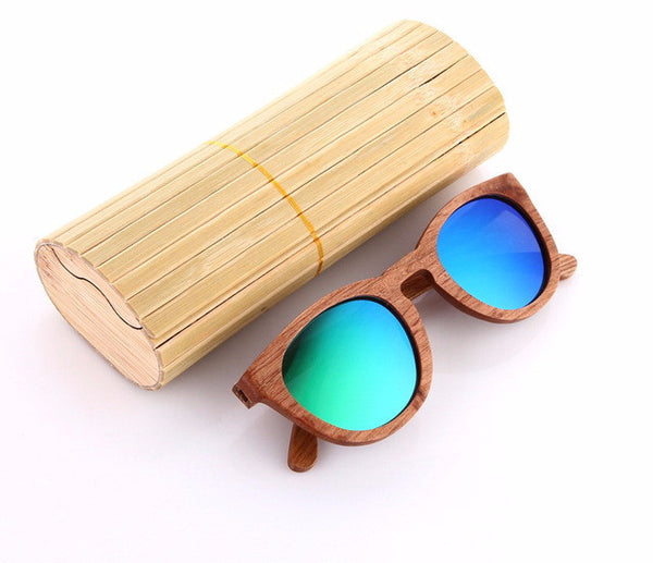 All Wood Sunglasses Round -WS10022