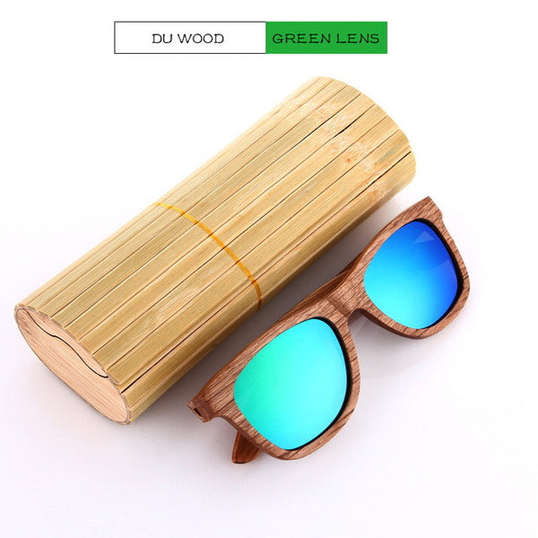 Wooden Sunglasses for Men with Premium Frame