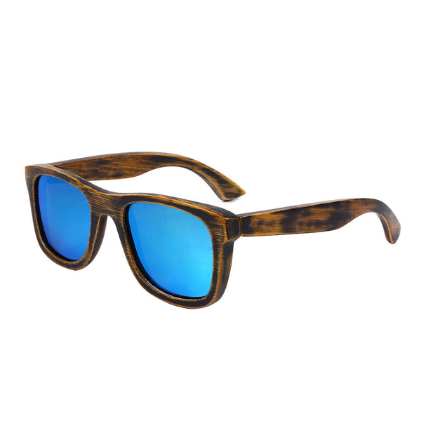 Bamboo Wood Sunglasses Polarized Men's - WS10029
