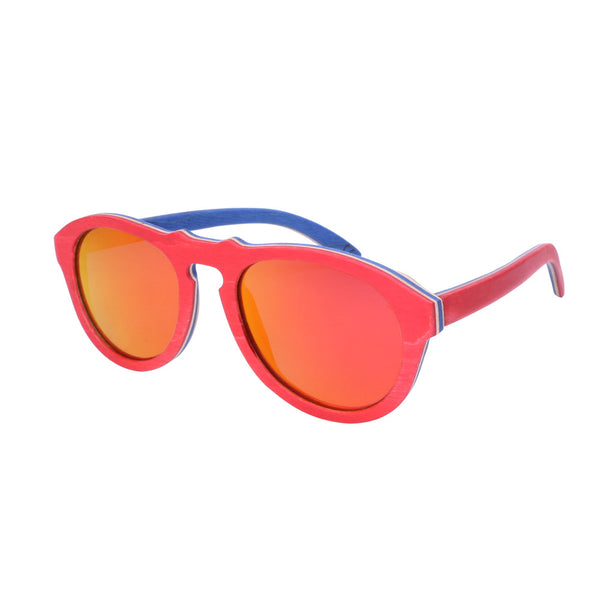 Skateboard Wood Sunglasses  // WS10910