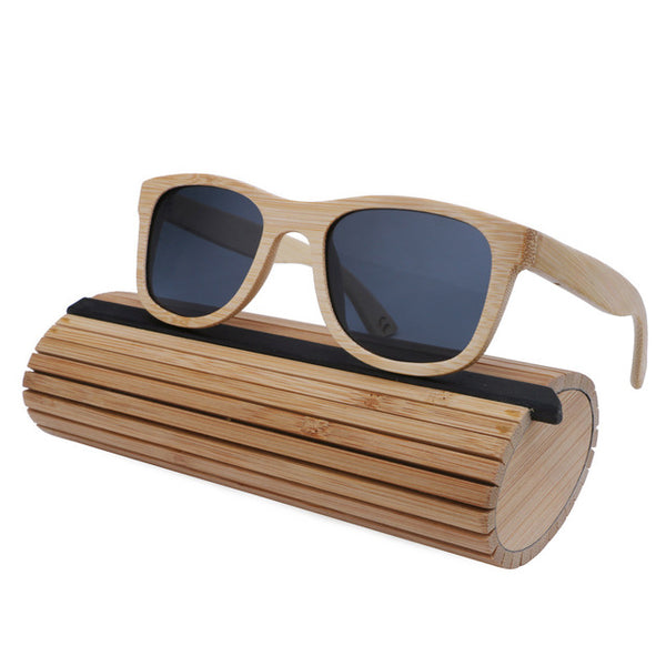 Bamboo Vintage Wood Sunglasses Polarized - WS10060
