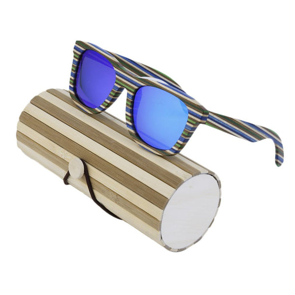 2017 New SOOKIE Special Design SK901 Sun glasses Men Women Unique Wooden Frame UV400 Protect Summer Beach Eyewear Sunglasses