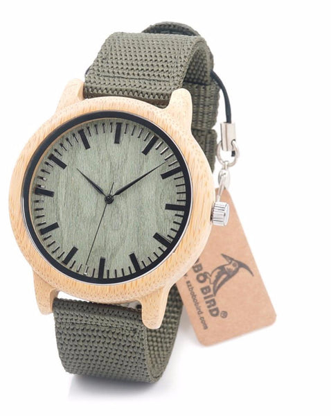 Wooden Bamboo Wood Watch for Mens - WR10012