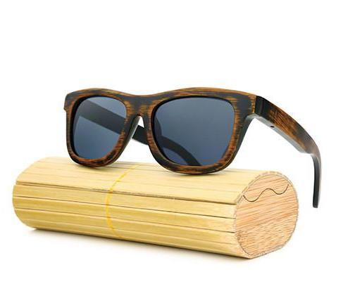 Bamboo Wood Sunglasses for Men's - WS10035