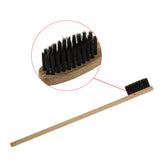 Style No. WT202 - Eco-Friendly Wooden Toothbrush with Natural Bristles
