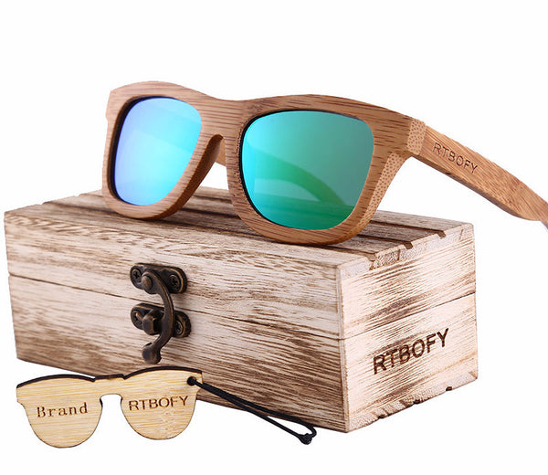 bamboo wood sunglasses WS10030