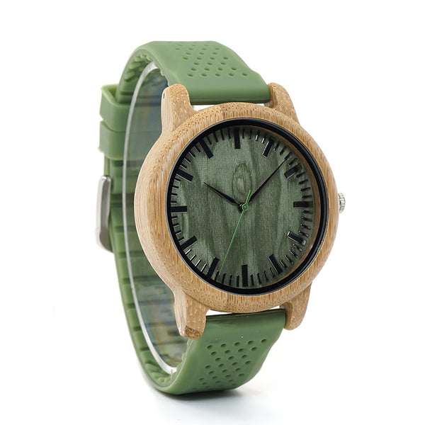 Bamboo Wood Watch Men -WR1006