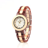 Style No. WM101 - Women's Wood Watch with Folding Clasp
