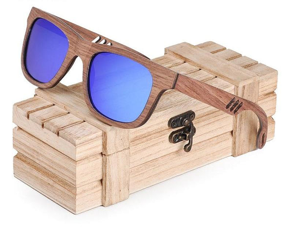 Style No. WS10091 - Vintage Style Wooden Sunglasses